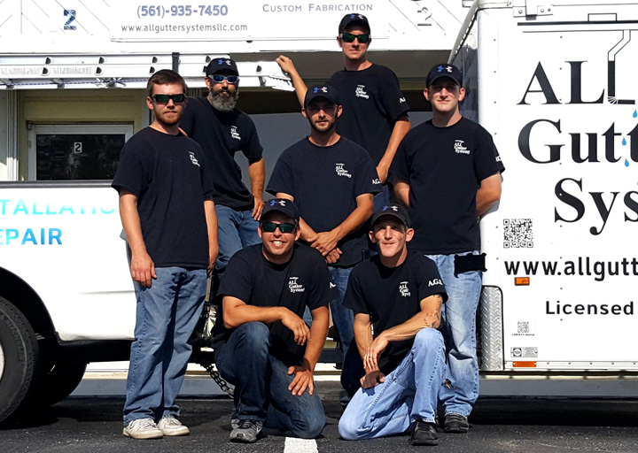 The All Gutter Systems Team of Professionals